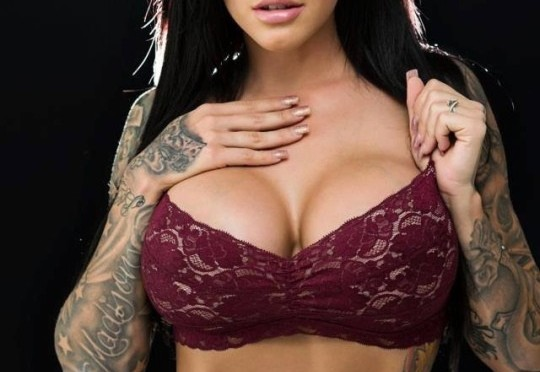 Heather Moss Beautiful Busty Tattooed Babe