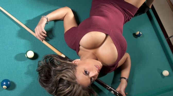 Wendy Fiore – Big Melons On The Billiards Table